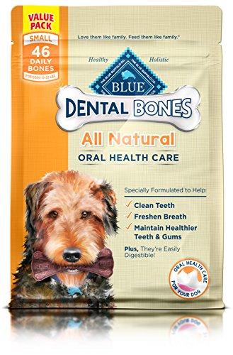 BLUE Dental Bones Adult Small Dental Chew Dog Treat 27-oz Value Pack