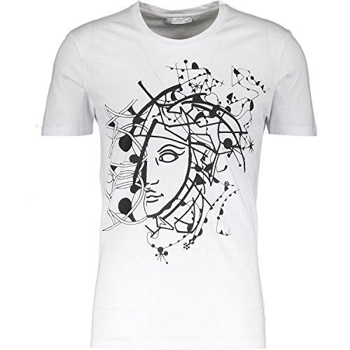 Versace Collection White Half Medusa T-shirt L