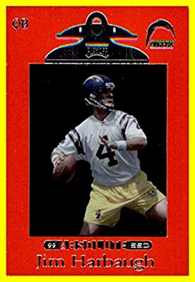 Hobby Store San Diego >> 1999 Playoff Absolute Hobby Ssd Red 84 Jim Harbaugh San