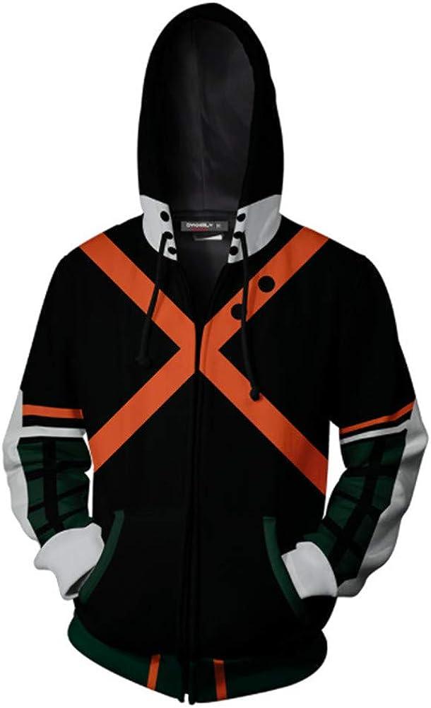 3D Print Hoodie Anime Super Hero Pullover Unisex Hooded Sweatshirt Halloween Cosplay Coat