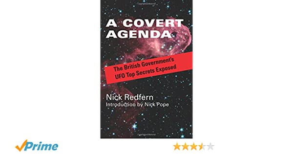 Amazon.com: A Covert Agenda: The British Government\'s UFO Top ...