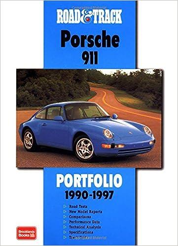 Road & Track Porsche 911 1990-1997 Portfolio (Road & Track