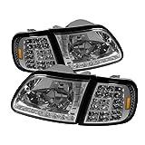 Spyder Auto HD-ON-FF15097-LED-SET-C Crystal Headlight