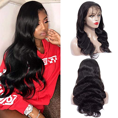 13x6 Lace Frontal Wig Human Hair Wigs 12inch Pre Plucked Body Wave Lace Front Wigs Human Hair 13x6 Deep Part Remy Human Hair Wigs for Black Women (12inch, Body 13x6 Wig)