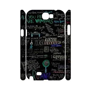 DDOUGS Arctic Monkey New Fashion Cell Phone Case for Samsung Galaxy Note 2 N7100, Customised Samsung Galaxy Note 2 N7100 Case