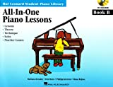All-in-One Piano Lessons Book B, Barbara Kreader and Fred Kern, 1423470982