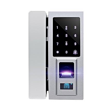 MagiDeal Cerradura de Puerta de Huellas Dactilares Digital Biométrica 2xTarjeta Inteligente 10x Tornillo 1x Bloqueo Electrónicas