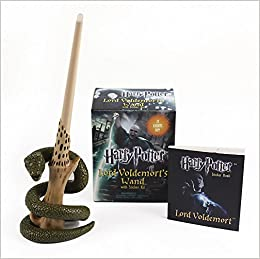 Harry Potter Voldemorts Wand with Sticker Kit: Lights Up ...