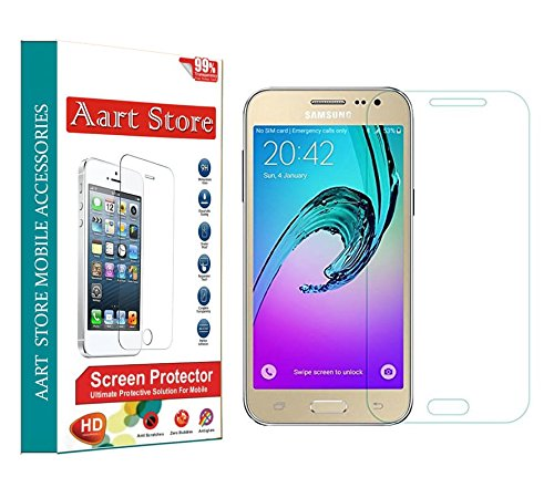 Samsung Galaxy J7 (Combo Offer: Set of 2) Tempered Glass Anti-Scratch Screen Protector by AART