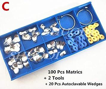 Amazon com: CAPRICOS 100Pcs/Set Sectional Contoured Matrices