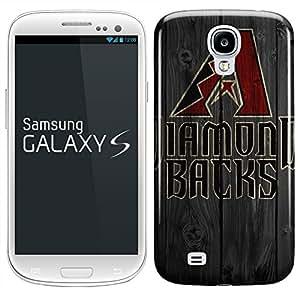 Samsung Galaxy S5 Hard Case Cover - Sports team Arizona Diamondbacks A Wood -04