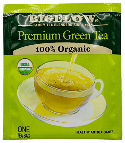 Bigelow Premium Green Tea Bags, 176 Count Box, Caffeinated Individual Green Tea Bags, for Hot Tea or Iced Tea, Drink Plain or Sweetened with Honey or Sugar from Bigelow Tea