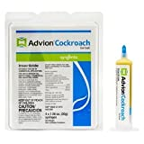 advion Hot New Syngenta Cockroach Gel Bait 1 Box (4 Tubes, 2Tips and 1Plunger) Excellent
