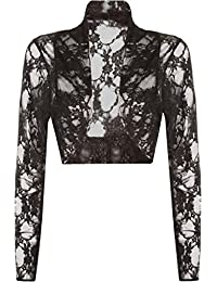 FAIRY TRENDS LTD Lace Front Open Long Sleeve Ladies Casual Cardigan