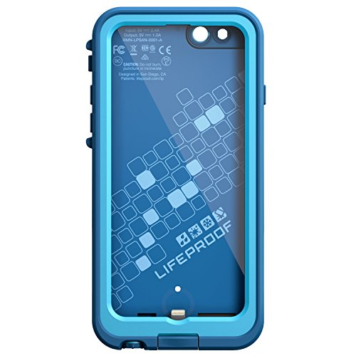 Lifeproof FRE POWER iPhone 6/6s (4.7'' Version) Waterproof Battery Case - Retail Packaging - BASE JUMP BLUE (BASE BLUE/SNOWCONE BLUE) by LifeProof (Image #2)