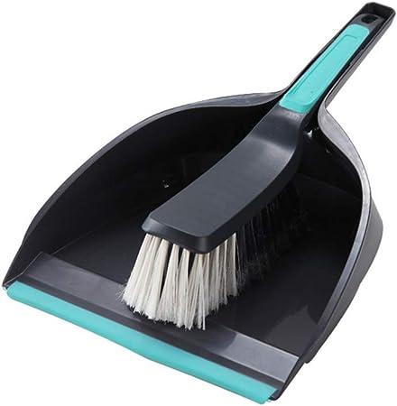 C Five Gran recogedor y Cepillo para jardín Conjunto de Pala para Polvo al Aire Libre con Cepillo de Mano rígido Adecuado para Limpieza de jardín de Escritorio: Amazon.es: Hogar