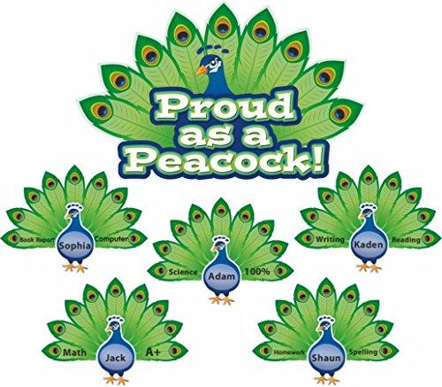 Self Esteem Bulletin Boards - Proud as a Peacock Bulletin Board