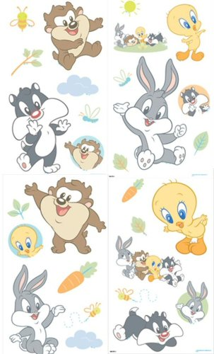 Amazon.com: SandyLion Wall Stickers: Baby Looney Tunes: Baby