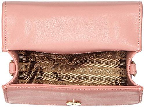 Love Moschino Borsa Calf Pu Rosa - Borse Baguette Donna, Pink, 13x17x11 cm (L x H D)