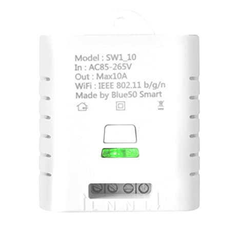 Amazon.com: Boger SW1_16W SW1_10W Wifi Wireless Switch Remote Control Ewelink Automation Relay Module for iPhone Android Smartphones 10A 16A: Computers & ...