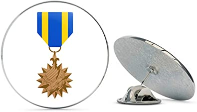 US USA Silver Star Medal Military Hat Lapel Pin