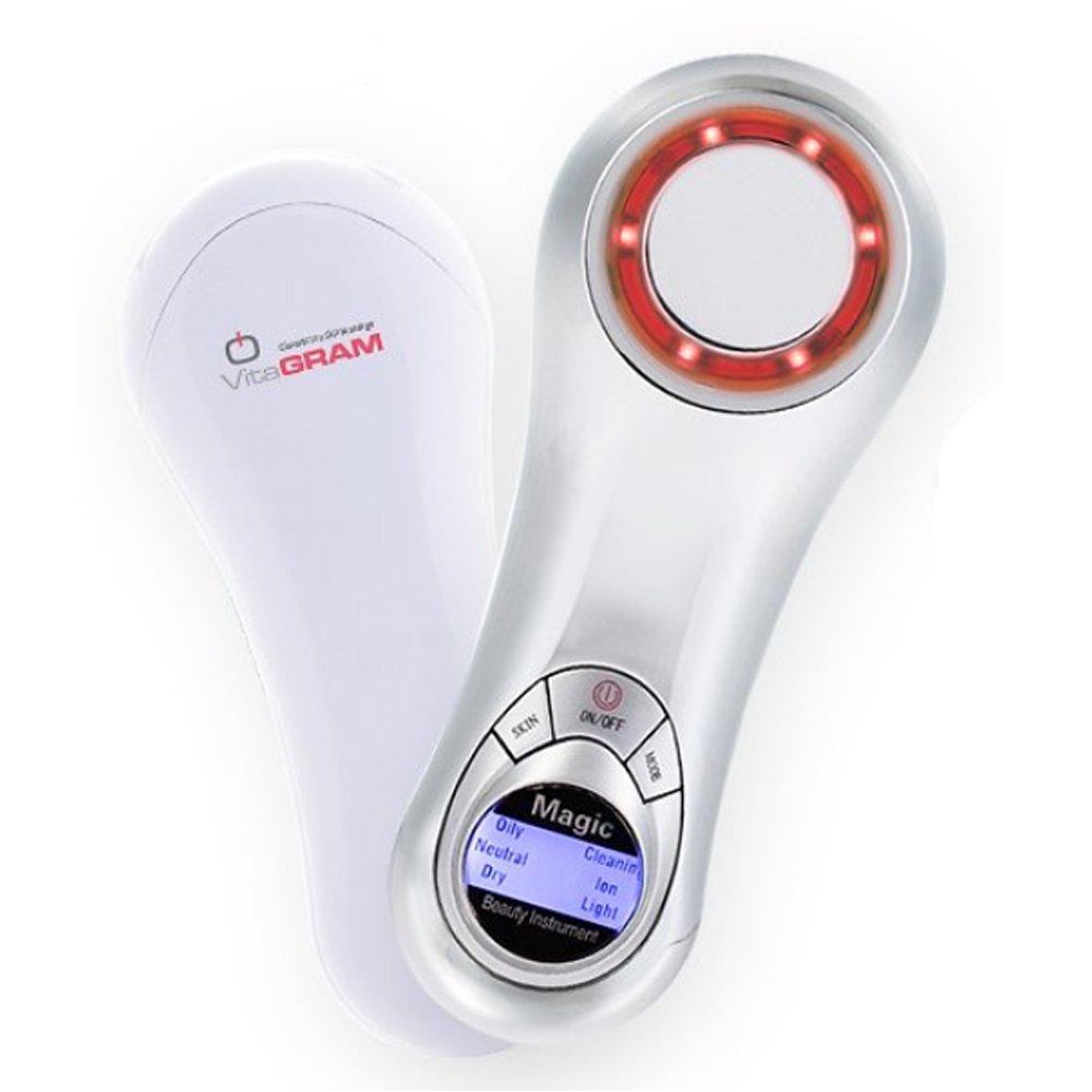 Amazon.com: Vitagram Galvanic Ion Electric Micro-Vibration Skin Face  Massage: Beauty