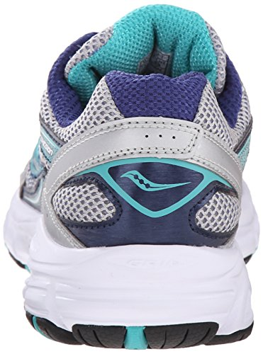 Low Women's W Teal 9 Sneakers Saucony Top Navy Silver Cohesion wqIaxFqR