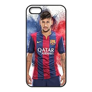 Generic hard plastic Neymar JR Cell Phone Case for iPhone 5 5S SE Black ABC8354403