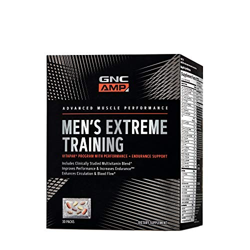 GNC AMP Mens Extreme Training, 30 Day Supply