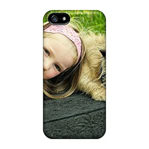 High Impact Dirt/shock Proof Case Cover For Iphone 5/5s (dog Tired)