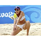Kerri Walsh Jennings Olympic Hero beach volleyball Limited Print Photo Poster 8x10 #1