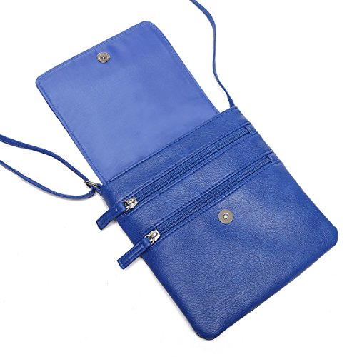 Flap Bag Shoulder UU Family Blue Mini Purse Crossbody Women FAES4S1