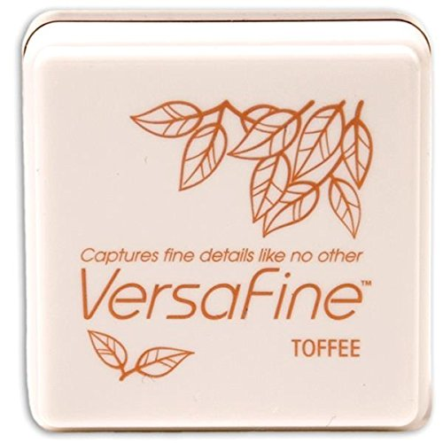 Tsukineko Small-Size VersaFine Instant Dry Pigment Ink, Toffee