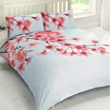 Just Contempo Cherry Blossom Duvet Cover Set, Double, Pink by Just Contempo