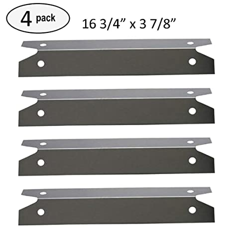 Barbacoa Funland sh7311 (4-Pack) placa de calor de acero ...