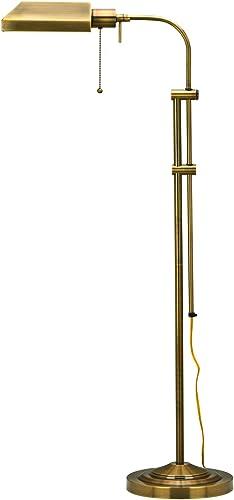 Cal Lighting BO-117FL-AB Floor Lamp Pharmacy Collection