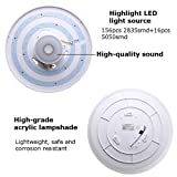 Upgrade Music Ceiling Light with Bluetooth