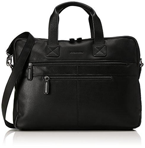 Bodenschatz Business Bag - Borse per PC portatili Unisex – Adulto, Schwarz (Black), 11x29x40 cm (L x H D)
