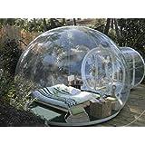 leaningtech der neuste trend bubble tent klarsicht dome zelt camping festzelt 3 5 personen. Black Bedroom Furniture Sets. Home Design Ideas