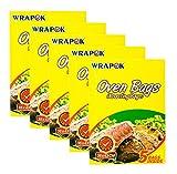 WRAPOK Cooking Oven Bags Medium No Mess Roasting