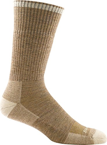 Darn Tough Men's John Henry Boot Sock Cushion ( Style 2001 ) Merino Wool, Sand (Large 10-12) - 6 Pack Special