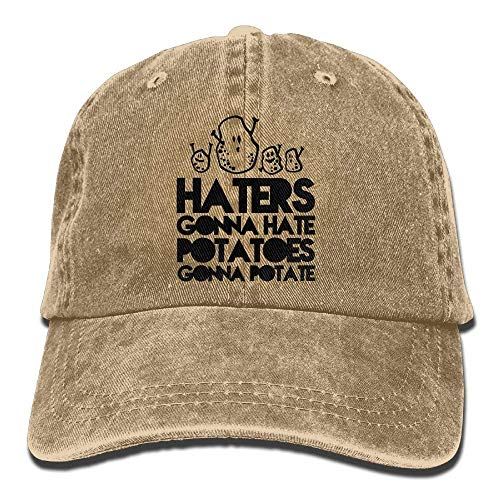 Uriah Haters Gonna Hate Potatoes Gonna Potate Cowboy Sports Hat ...