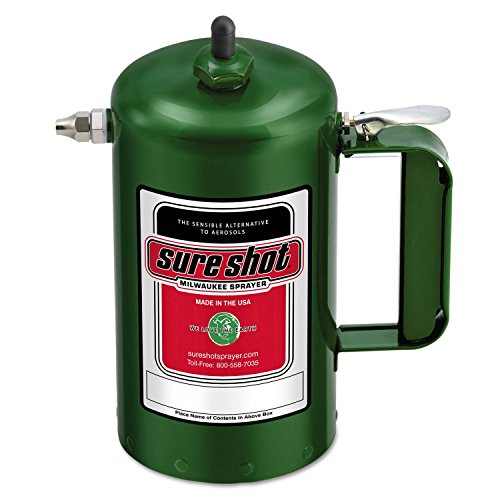 Sure Shot A1000G Sprayer Steel Interior, Green Exterior, 32 oz - Ounce Cans 32