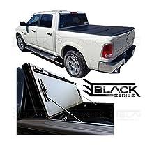 2002-2017 Dodge Ram 6.5ft Box   Hard Tri-Fold Cover   Solid Fold Tonneau Cover   Bed Cover (flush-mount)