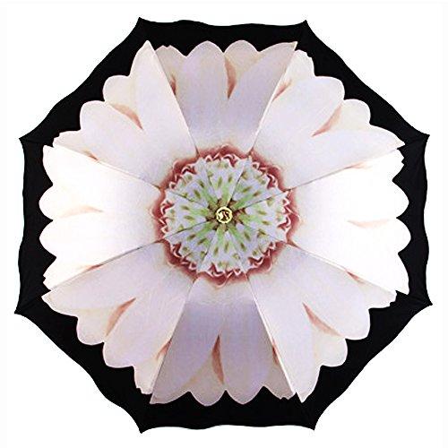 vejaoo-travel-umbrella-uv-protection-sun-rain-compact-windproof-daisy-umbrellas-white