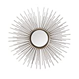 Asense Home Collection Sunburst Mirror, Classic Metal Decorative Wall Mirror Review