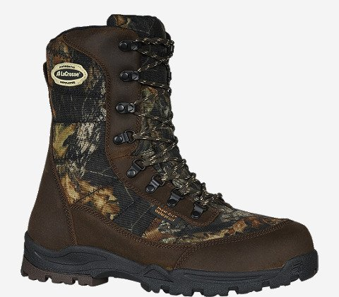 LaCrosse Men's Silencer 8 Inch 800G Hunting Boot, Mossy Oak Break Up Infinity, 12 M US