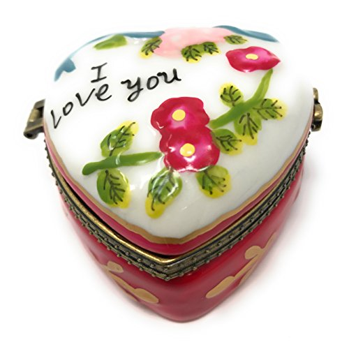 Porcelain Heart Shaped