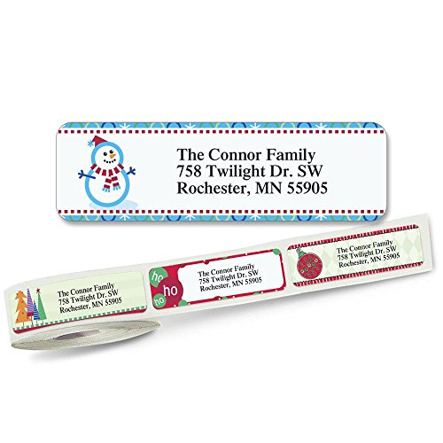 ress Labels (5 Designs) Roll of 250 (5 Designs Rolled Address Labels)