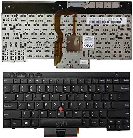 04X1201 Teclado 04X1315 T430S T430i DUANDET US Version English Laptop Keyboard with Pointing Sticks for Lenovo IBM Thinkpad L430 0C01997 Replacement Keyboard T430 04X1277